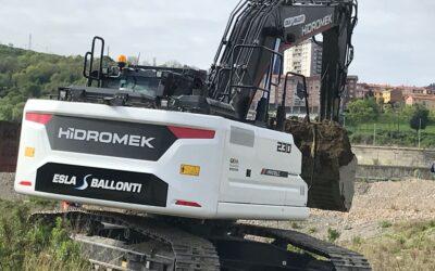 Esla Ballonti participa en la construcción de las primeras viviendas en la Isla de Zorrotzaurre